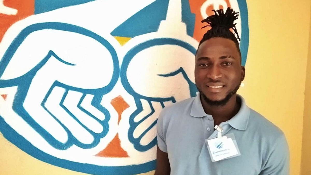 Ali Guire, participante del Programa Incorpora de la Fundación 'la Caixa'.