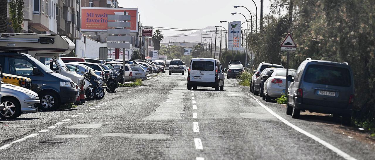 Estado de la carretera de Los Tarahales.      JUAN CARLOS CASTRO