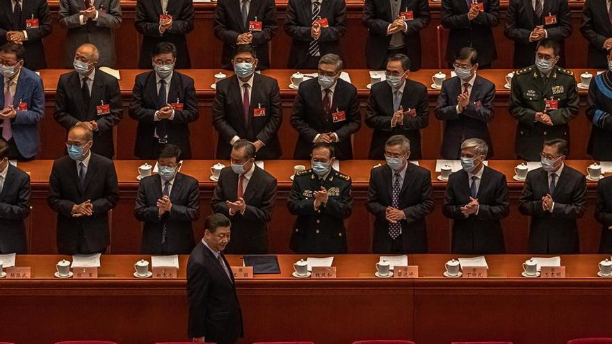 China fija un objetivo de crecimiento para 2021 de más del 6%