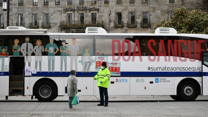 Pontevedra, tercera ciudad gallega con más participación en la donación de sangre