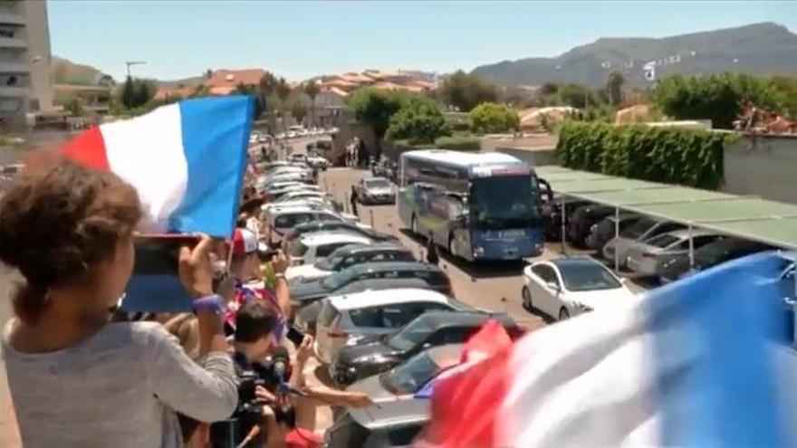 Francia ya espera a Alemania en Marsella