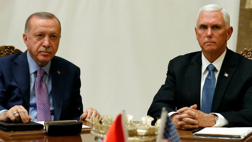 La presión de EE UU fuerza a Turquía a detener su ofensiva contra los kurdos en Siria