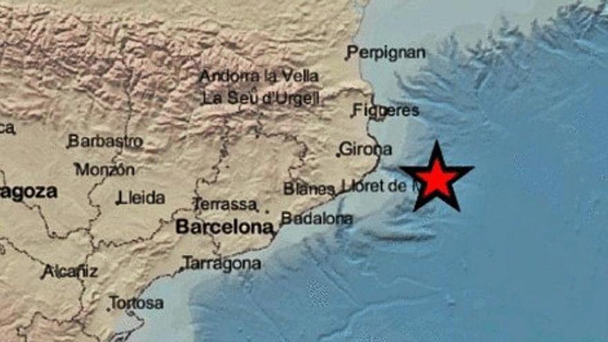 Un terratrèmol de magnitud 3,5 es fa sentir a l'Empordà
