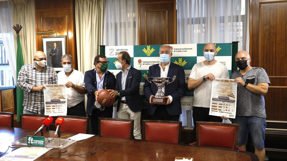 Imagen de la presentación del Memorial Carlos Sainz