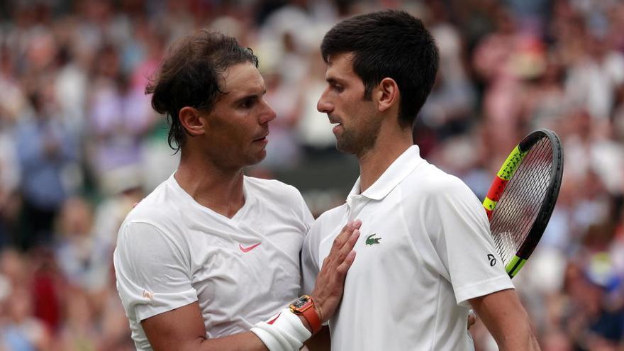 Djokovic, Nadal y Federer crean un fondo económico para sus compañeros