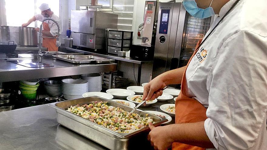 Integración concentrada en un menú diario de Manacor
