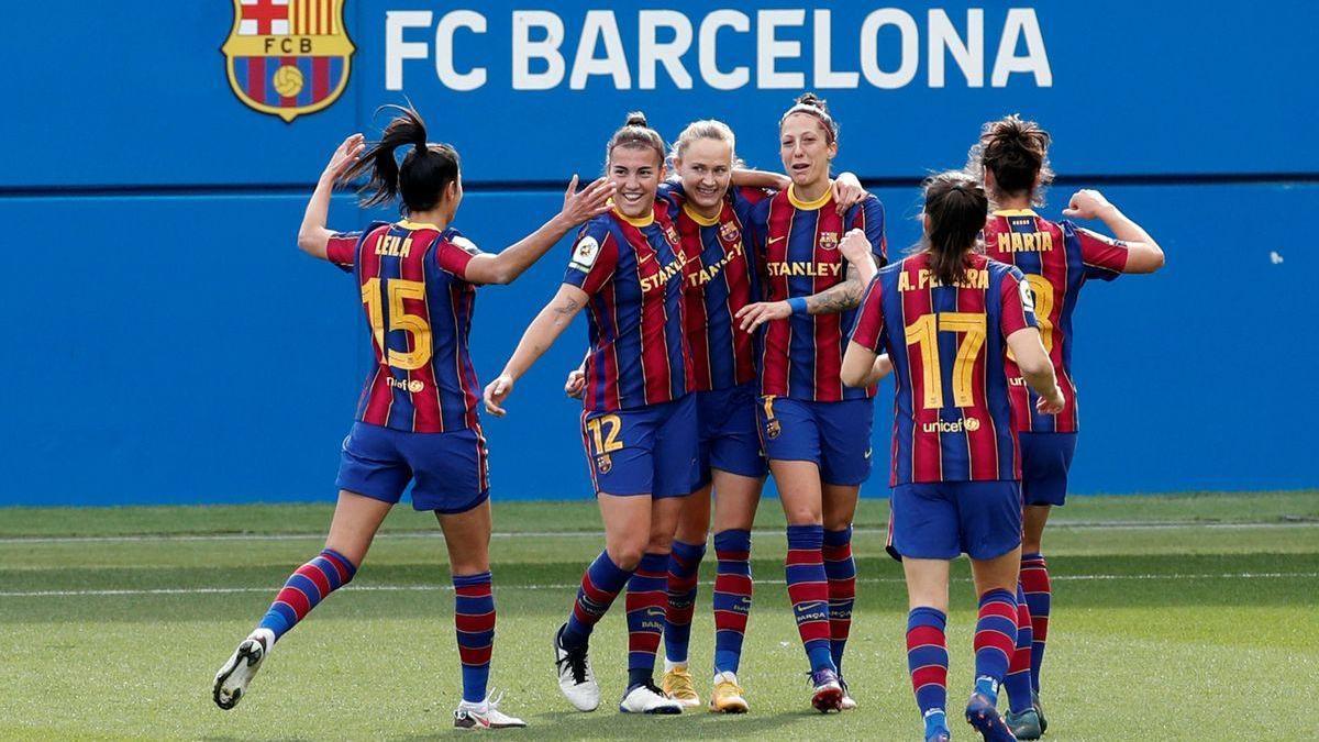 Un clásico de mucho Barça y poco Madrid