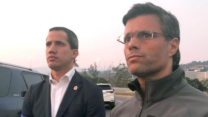 Guaidó reconoce que el plan para derrocar a Maduro ha fracasado