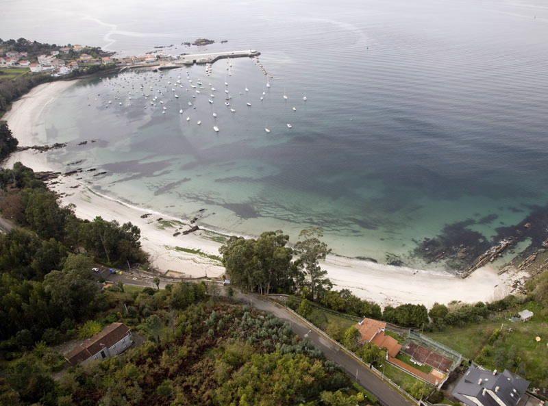 Playa de Aguete (Marín)