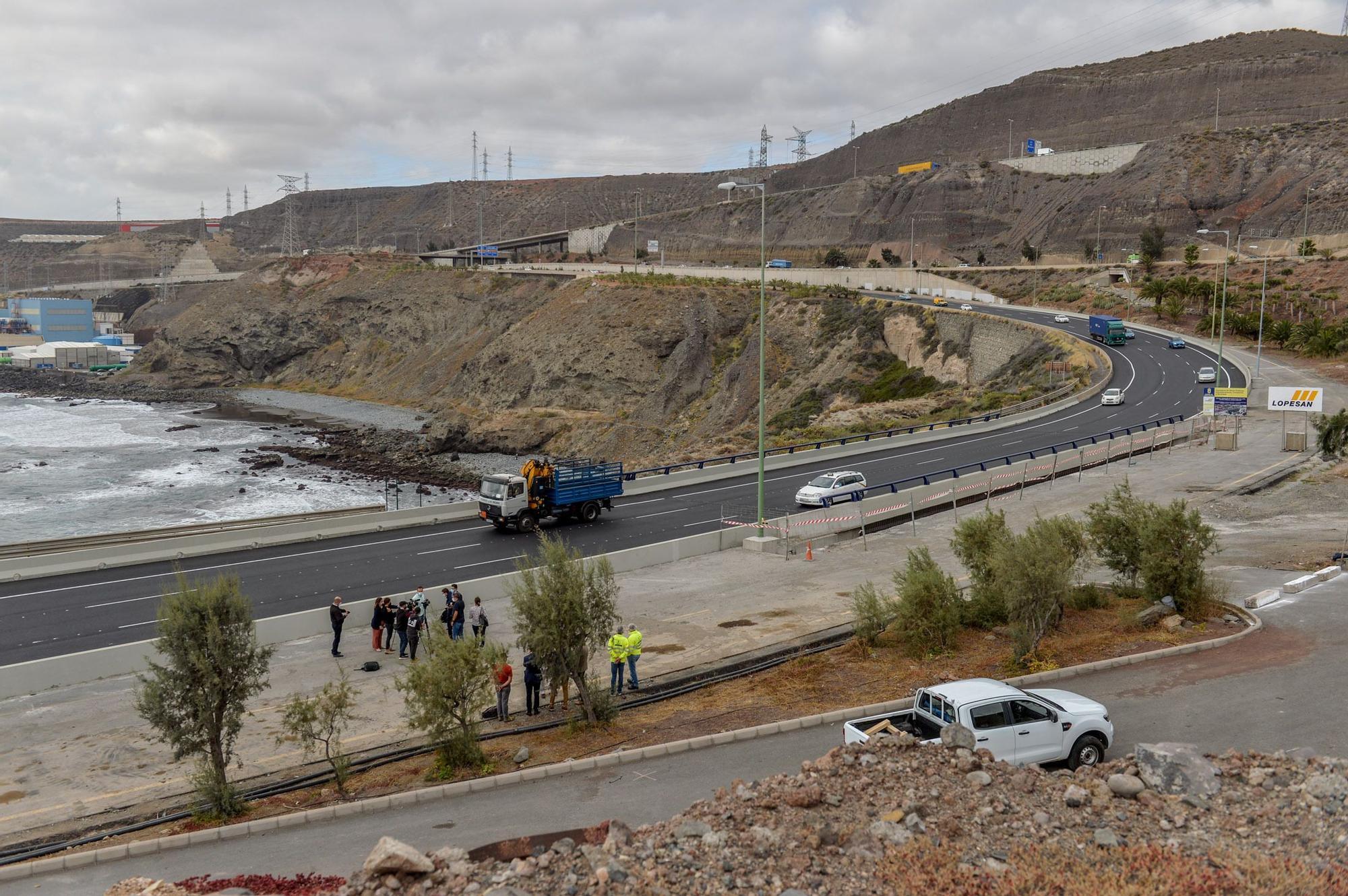 Inauguración del puente del Tívoli