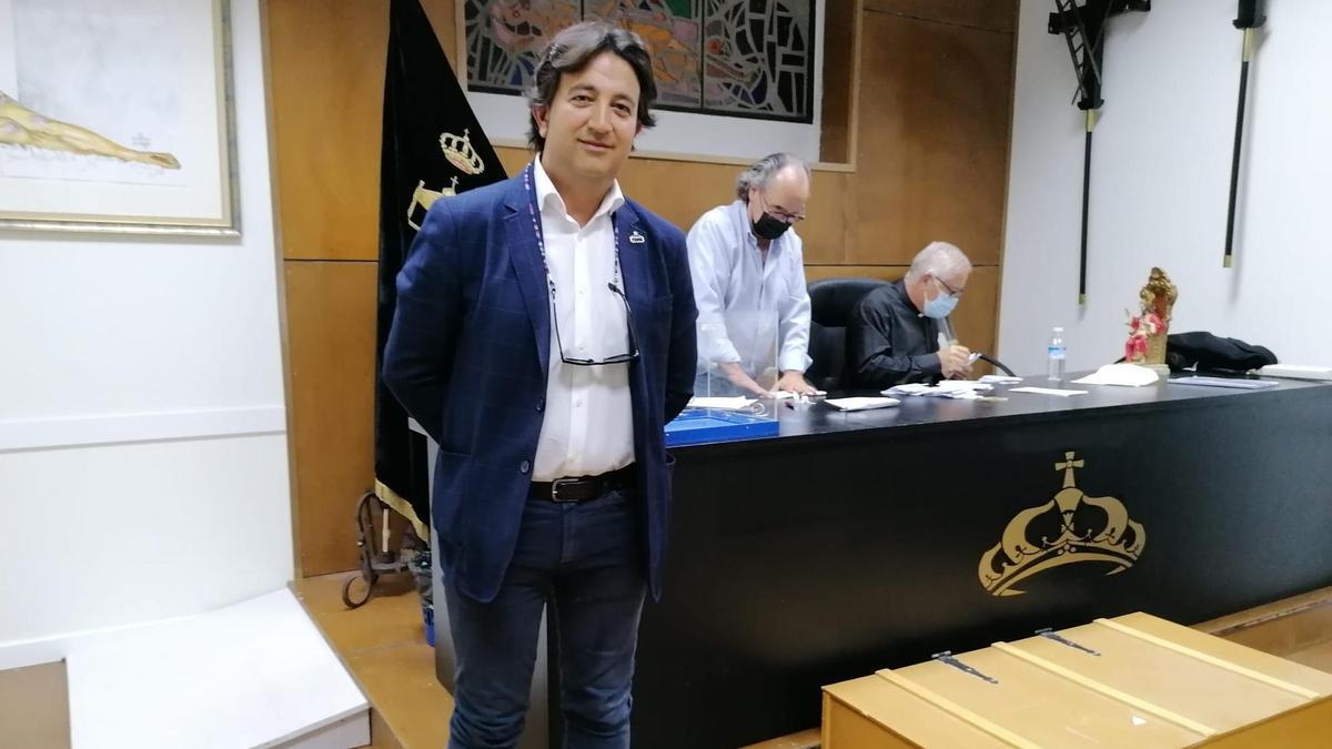 Ricardo Alonso Galán tras conocer el resultado electoral.