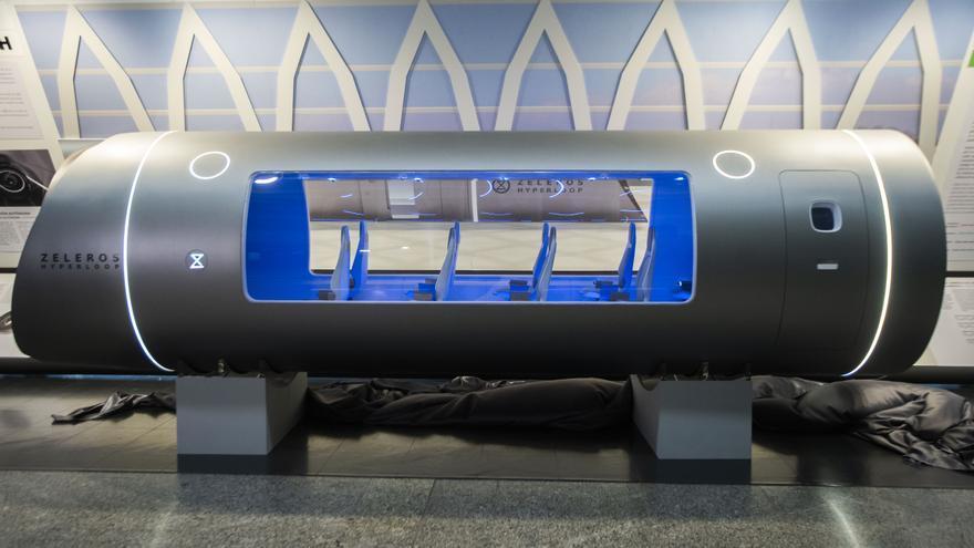 Zeleros desvela su 'hyperloop' y pone rumbo a la Expo de Dubái