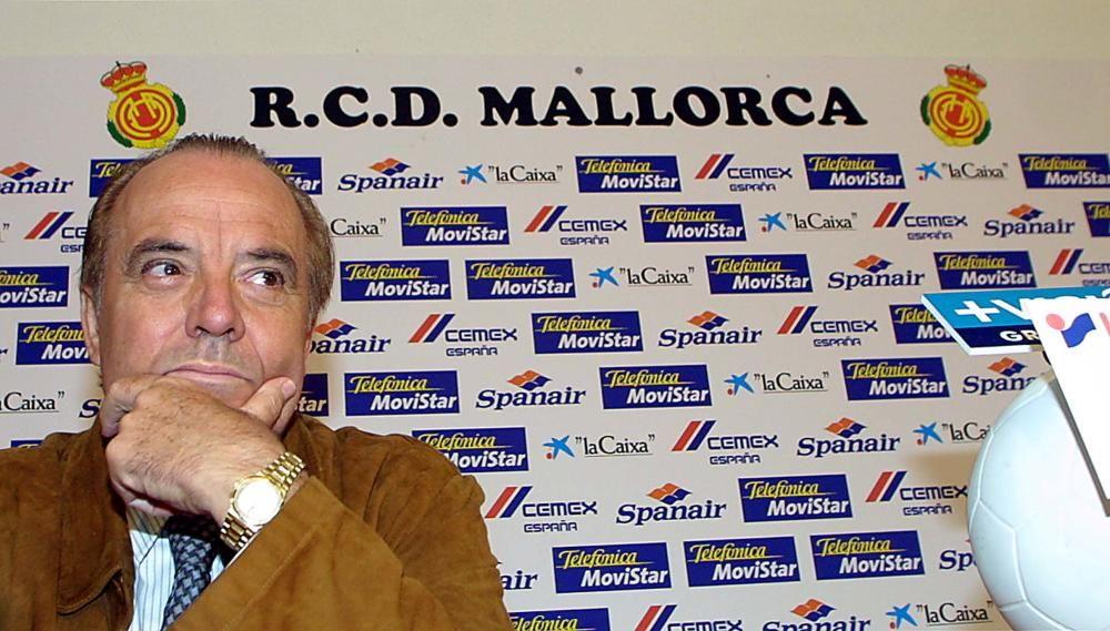 Durante su etapa al frente del RCD Mallorca.
