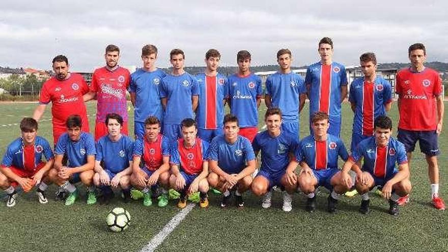 Los juveniles de la UD Ourense inician la puesta a punto