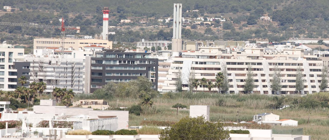 Imagen de archivo de la central de GESA Endesa en Ibiza.