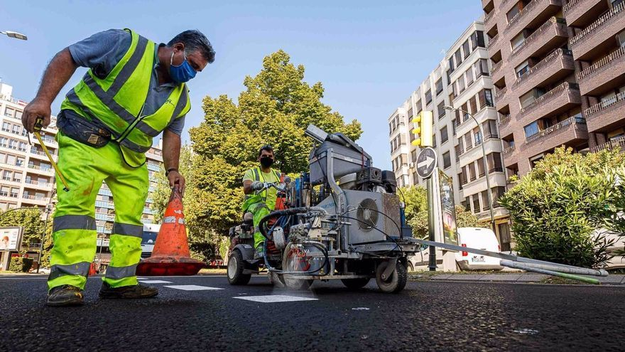 La Operación Asfalto llega a su ecuador esta semana con una quincena de calles renovadas