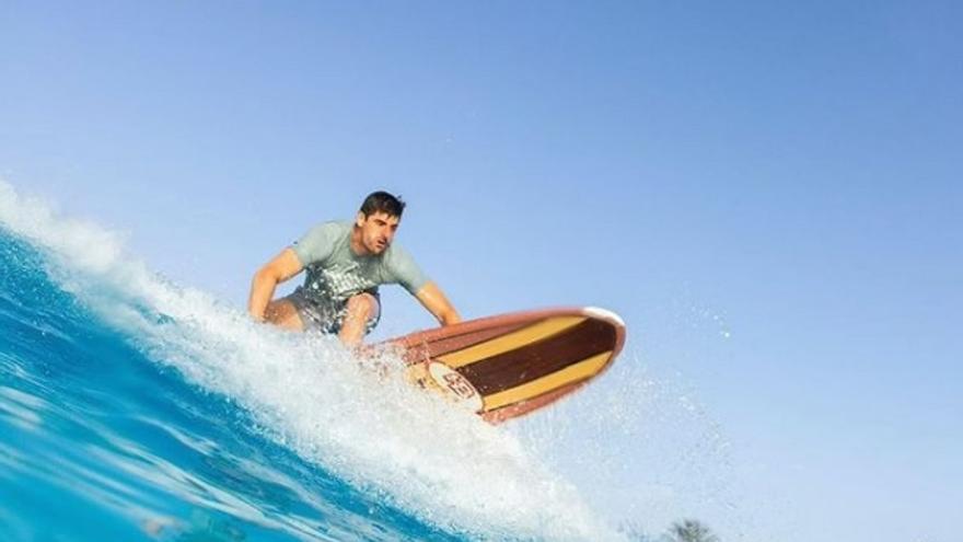 Thibaut Courtois vuelve a escoger Canarias para sus vacaciones familiares