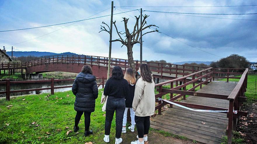 Meaño explota los valores naturales del río Cancha