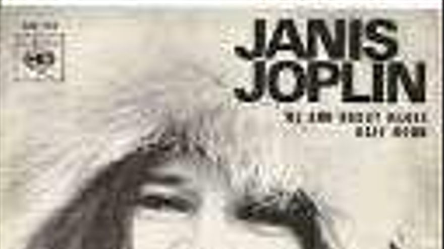 """""""Hay días que escucho 'Cry Baby', de Janis Joplin, y grito en silencio con ella"""""""