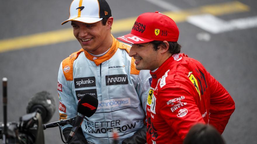 """Sainz: """"Es un gran resultado, si me lo dices antes lo cojo sin pensarlo"""""""