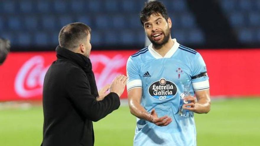 Araújo podría llegar al partido frente al Huesca