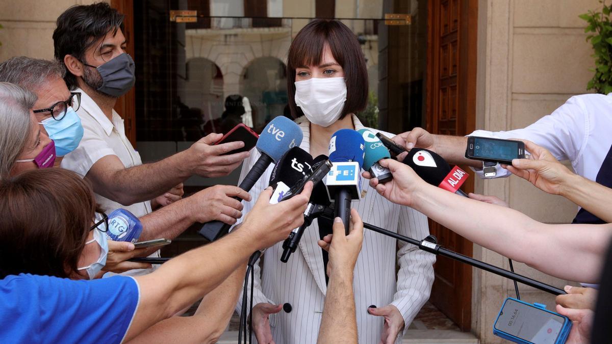 La ministra de Ciencia, Diana Morant