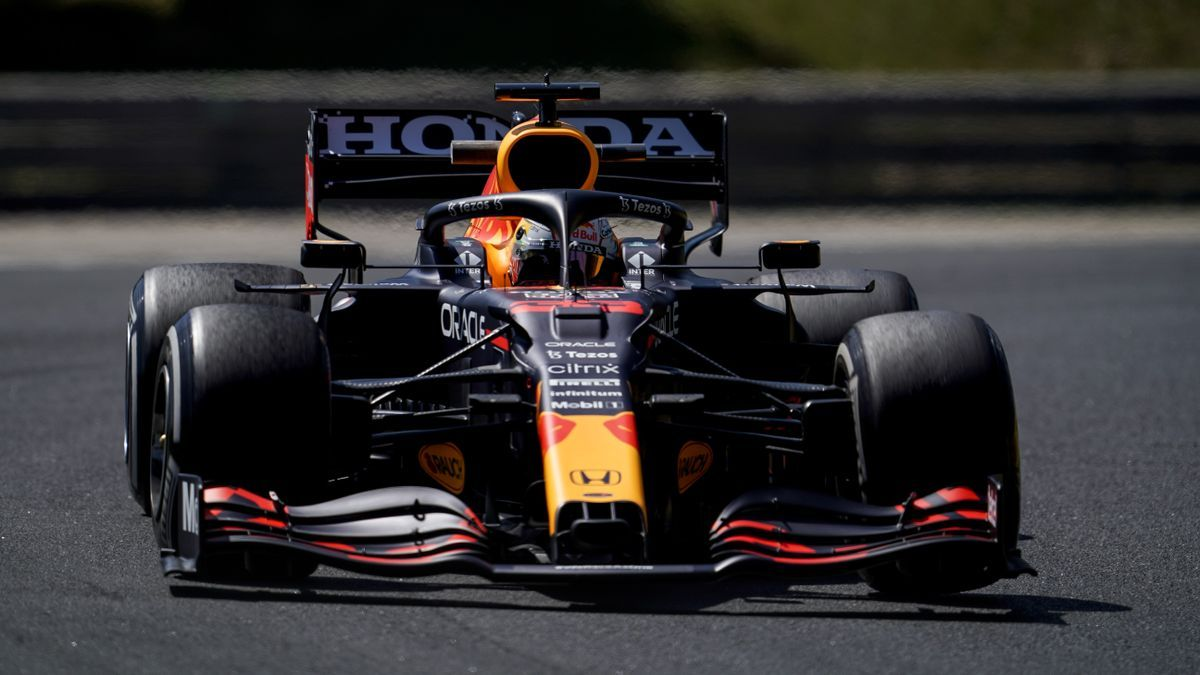 Max Verstappen, at the Hungarian GP.