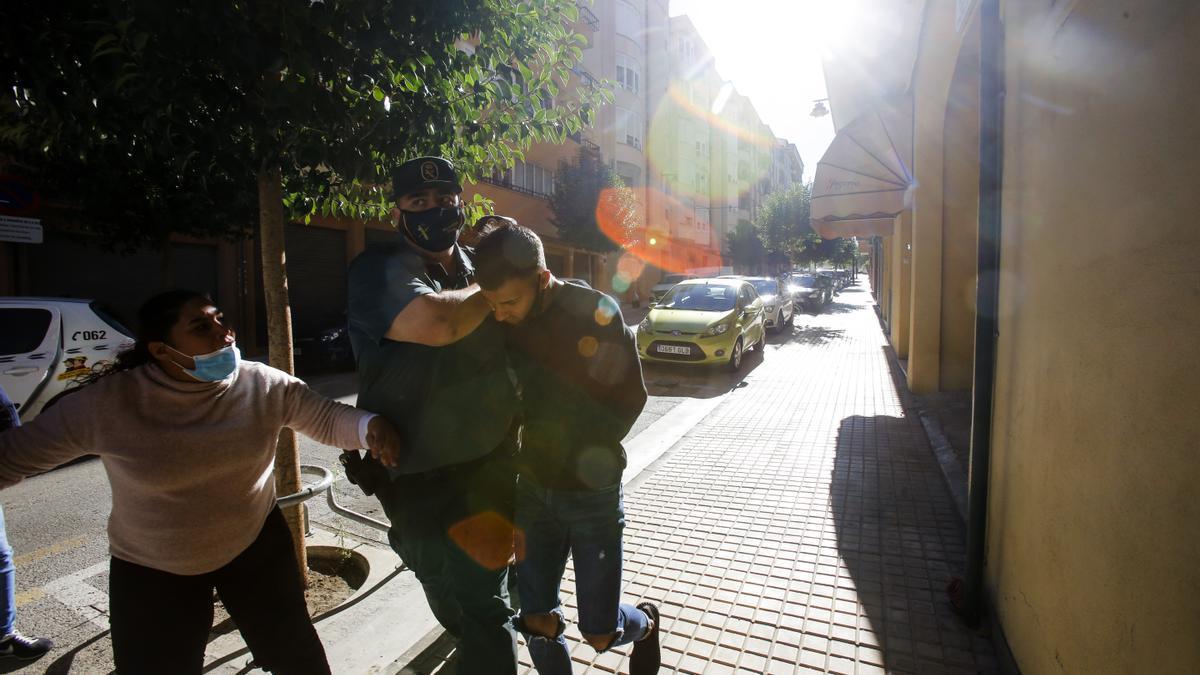 Detenidos por violación grupal, ante el juez