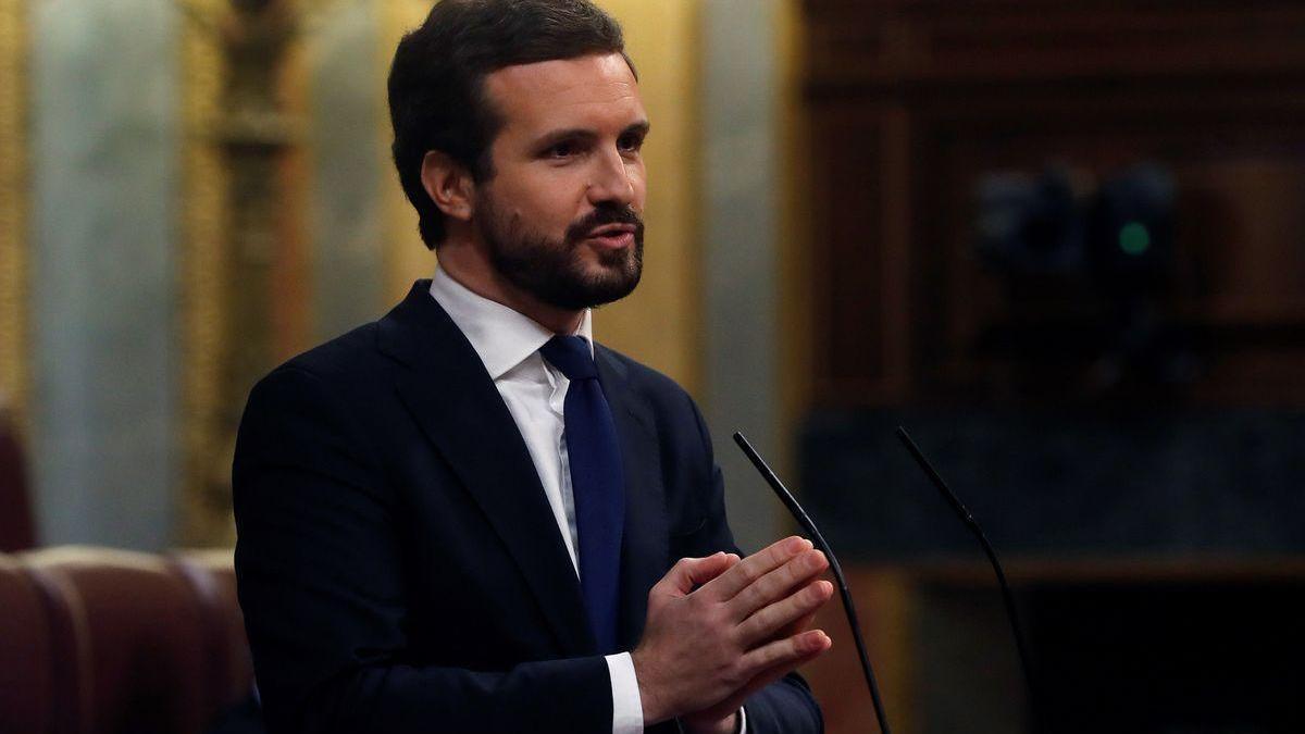 Casado asegura que Sánchez deja que los presos del 1-O dicten la acción de Gobierno