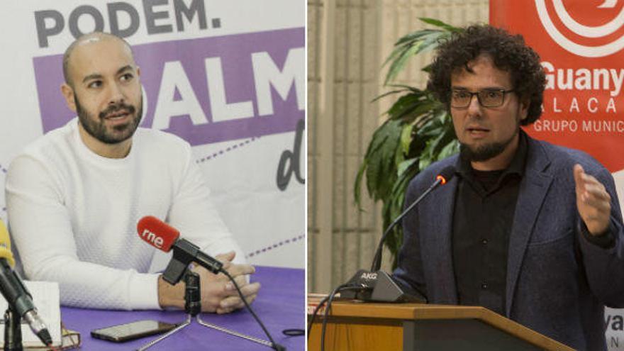 EU y Podemos cierran un principio de acuerdo en Alicante para las municipales