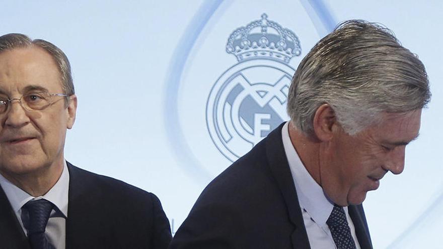 Carlo Ancelotti, nuevo entrenador del Real Madrid