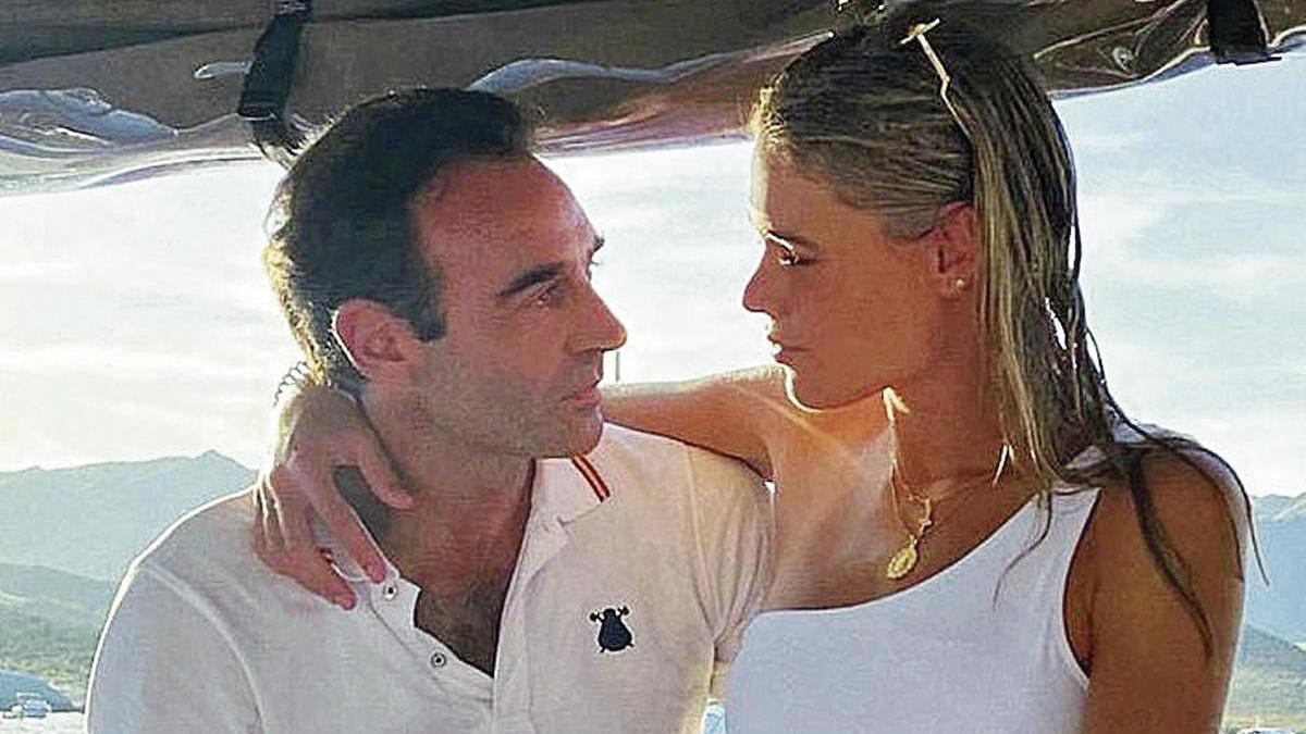 Ana Soria y Enrique Ponce.