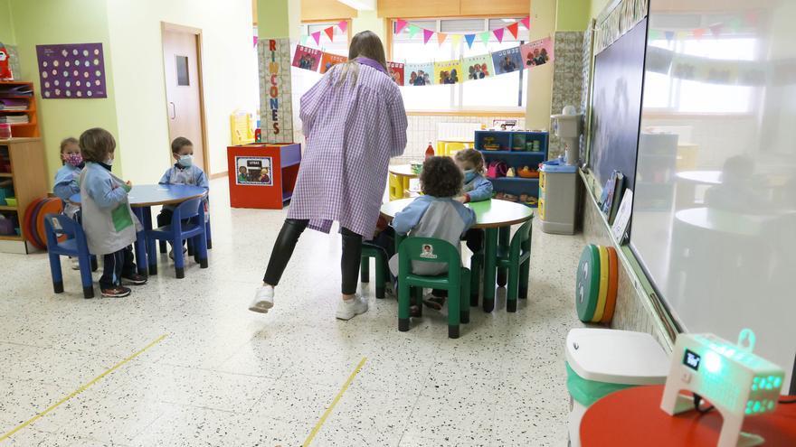Los centros educativos gallegos superan los 600 casos de COVID-19, que mantienen 40 aulas cerradas