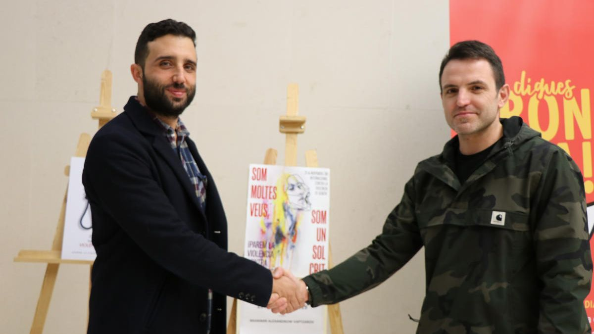 El alcalde con el ganador de 2019