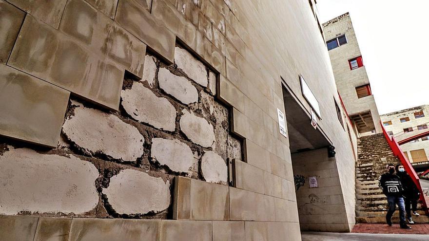 La Generalitat prevé la reparación de las fachadas del barrio de La Sang en Alcoy