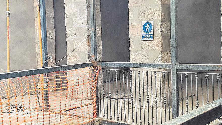 La restauración del Centro de Interpretación de Teror