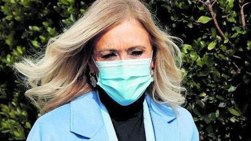 El TSJ de Madrid confirma l'absolució de Cristina Cifuentes pel 'cas màster'