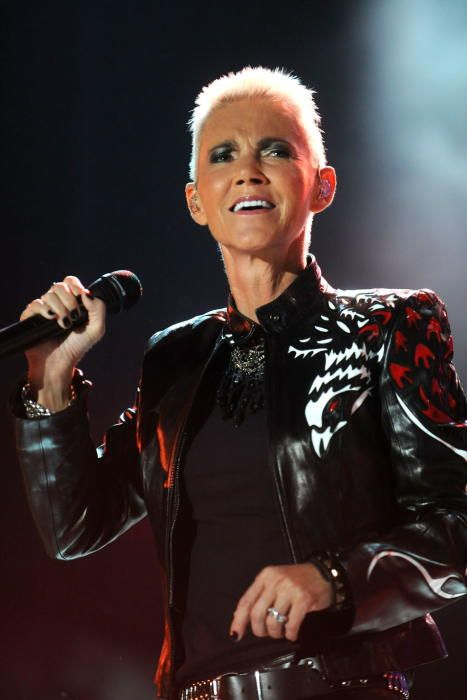 La carrera de Marie Fredriksson, cantante de Roxette.