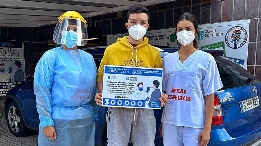 El área sanitaria llega a las 300.000 PCR mientras la quinta ola continúa remitiendo en la provincia