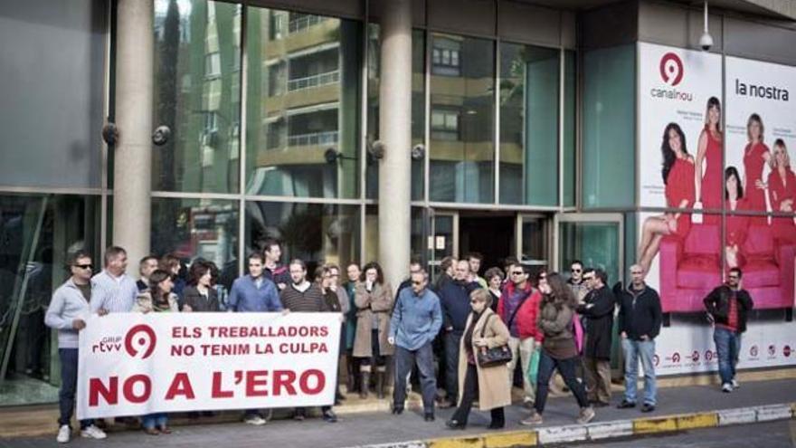 El Gobierno valenciano cierra Canal 9 tras anularse el ERE