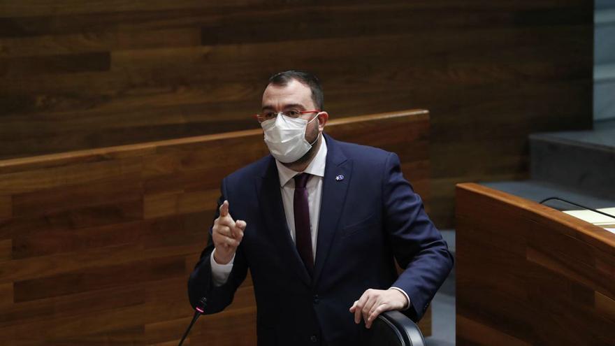 """Adrián Barbón: """"Tomaré las decisiones que sean necesarias por impopulares que sean"""""""