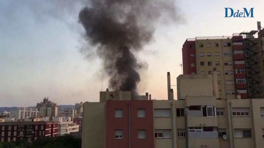Wohnungsbrand in Palmas Stadtteil Nou Llevant