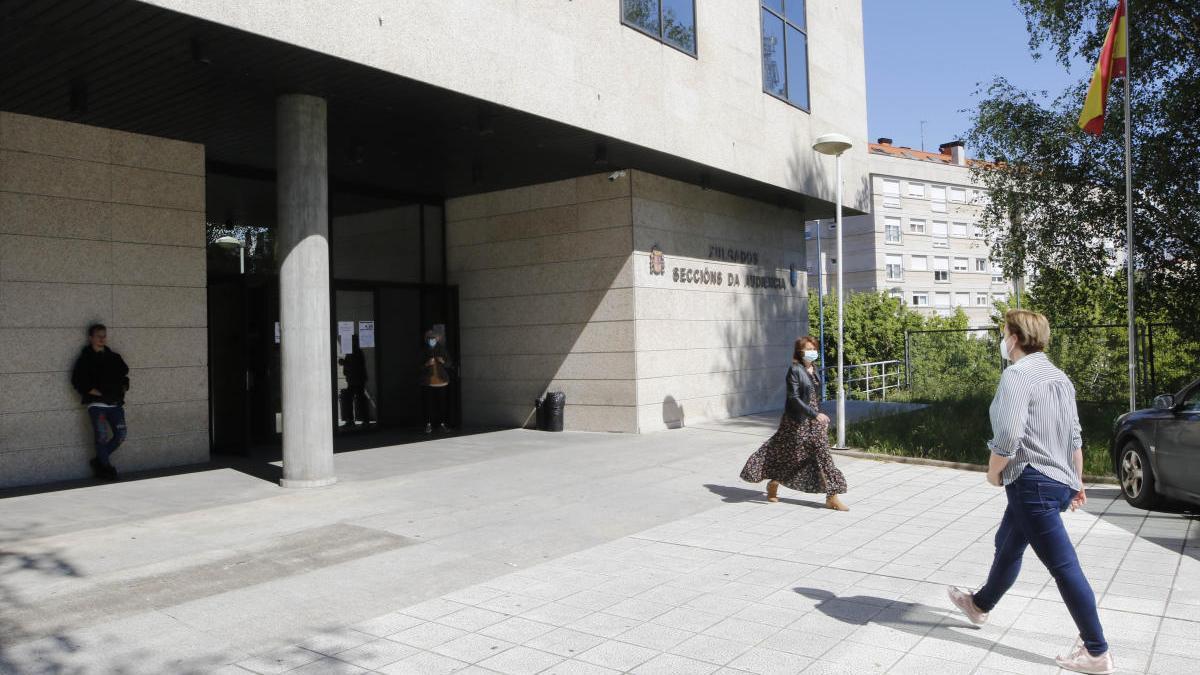 Audiencia provincial de Vigo. // Alba Villar