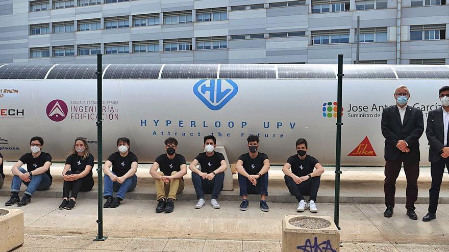 Nuevo hito de los estudiantes del Hyperloop UPV