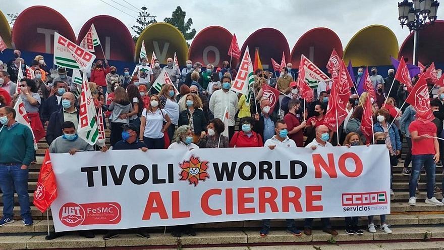 Los trabajadores de Tivoli se quedan sin prestaciones a partir del 31 de octubre