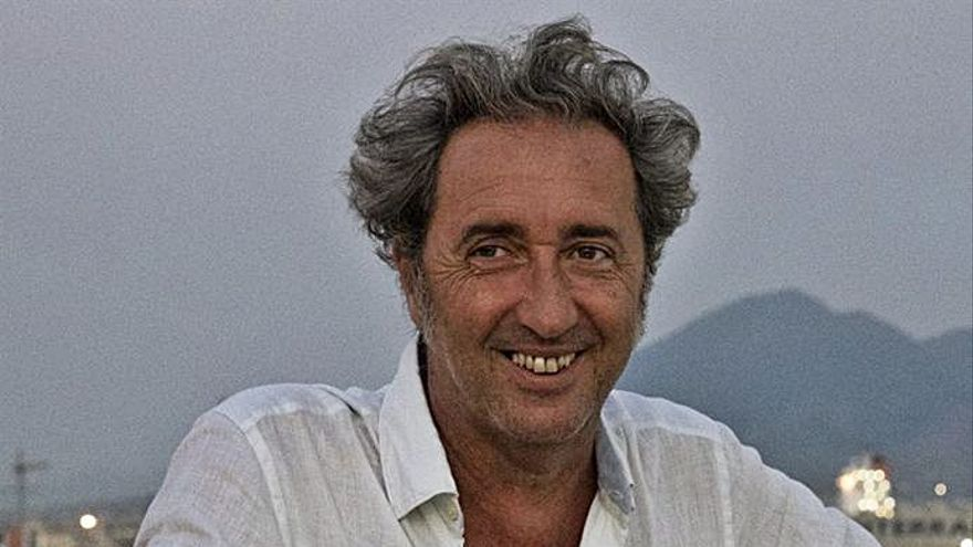 """El realizador Paolo Sorrentino filma  su """"Amarcord"""", su """"Cinema Paradiso"""""""