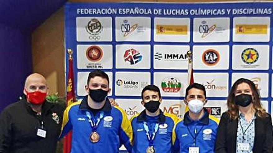 Medallas asturianas en el Nacional de Murcia