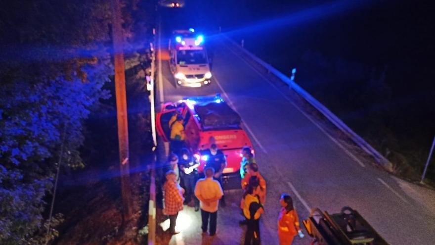 Desalojan una finca de la calle Padre Claret tras declararse un incendio de noche