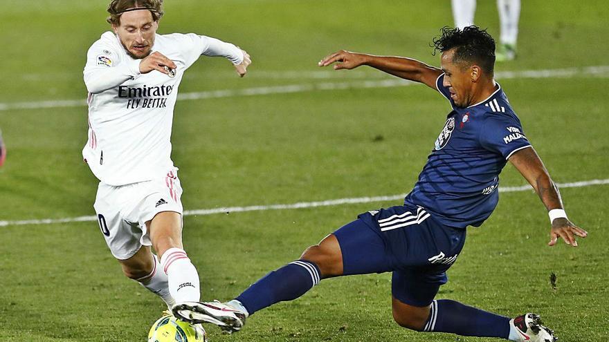 Modric facilita un feliz estreno de 2021 al Madrid