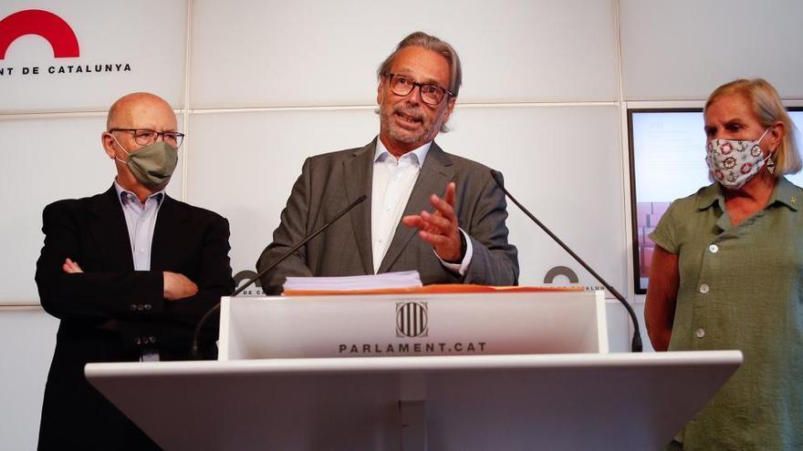 Los expresidentes del Parlament piden el indulto para Forcadell
